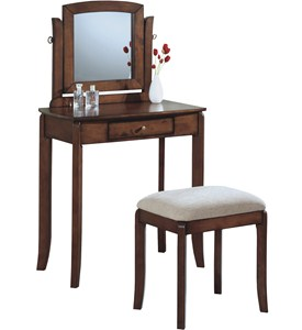 Vanity Table and Stool Image