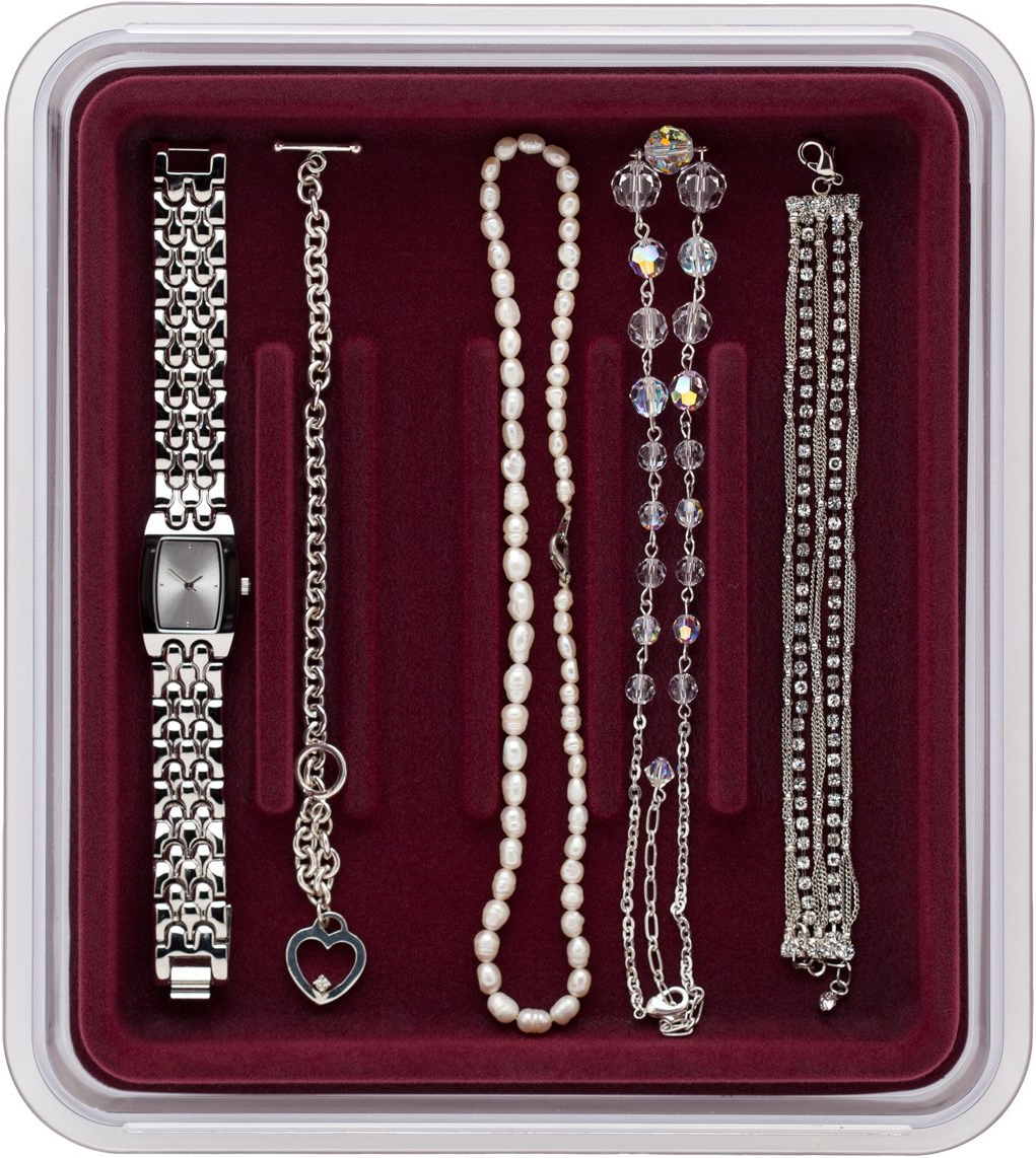 velvet jewelry tray watches and bracelets in jewelry trays