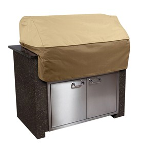 veranda large island grill cover by classic accessories in patio furniture covers. Black Bedroom Furniture Sets. Home Design Ideas
