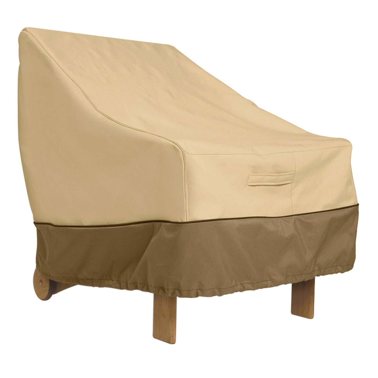 Lounge chair cover veranda in patio furniture covers for Furniture covers