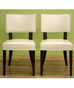 Veronica Cream Dining Chairs Set Of Two By Wholesale Interiors Inc