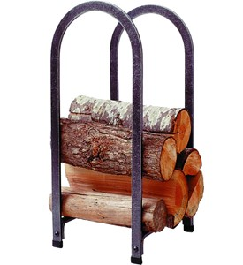 Vertical Arch Log Rack Image