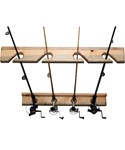 Vertical Fishing Rod Storage Rack