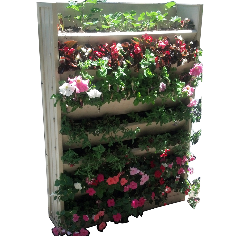 Vertical Garden Planter In Garden Plant Stands