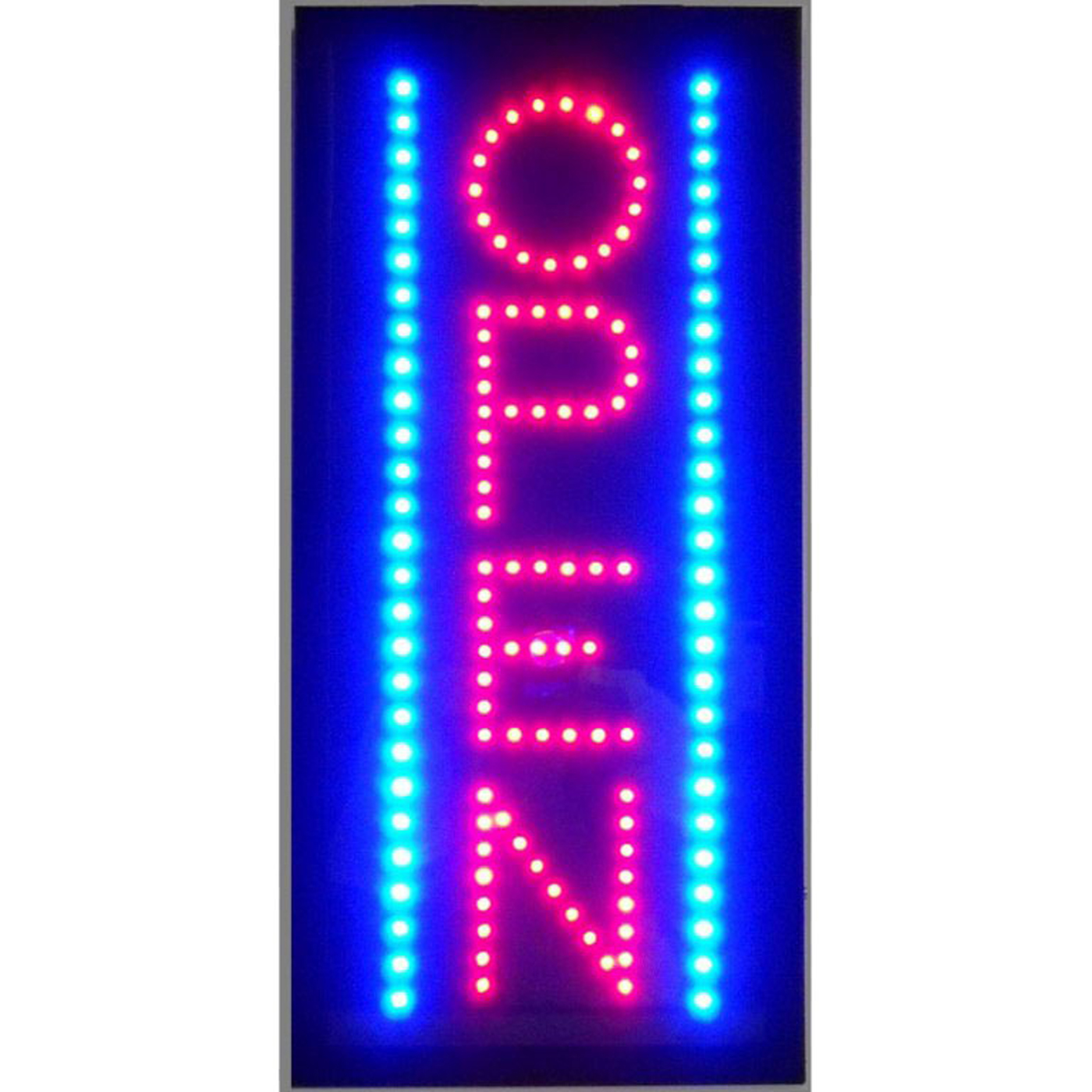 Vertical Open Led Sign In Neon Signs