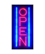 Vertical Open LED Sign