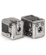 Vintage Camera Boxes - Set of 2 by Imax