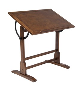 Wood Drafting Table Image