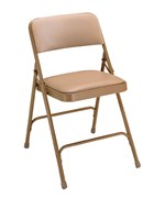 Vinyl Seat Steel Folding Chairs