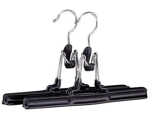 Vinyl Coated Non Slip Pant Hangers Set Of 2 In Wire Hangers