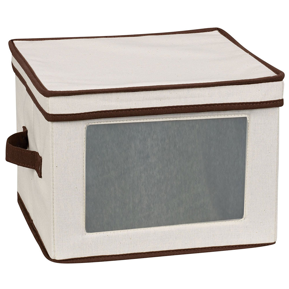 Vision Canvas Dinner Plate Storage Box