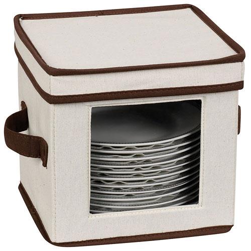 ... Vision Canvas Salad Plate Storage Box ...