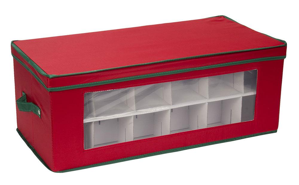 vision holiday ornament storage box large - Wreath Storage Box