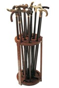 Walking Cane Storage Rack