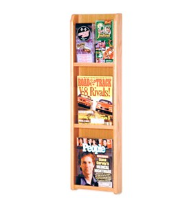 Wall Magazine Rack - 3 Pocket Image