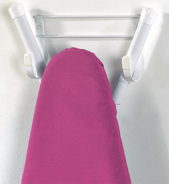 Wall Hanging Ironing Board wall-mount ironing board holder in iron and board holders