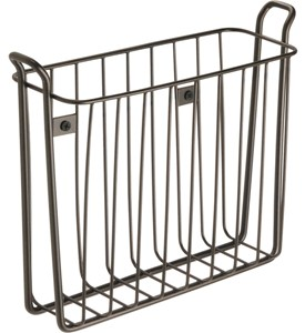 Wall Mount Magazine Rack - Bronze Image