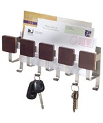 Wall-Mount Mail and Key Rack - Formbu