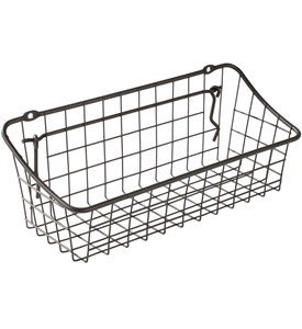 Wall Mount Storage Basket Image