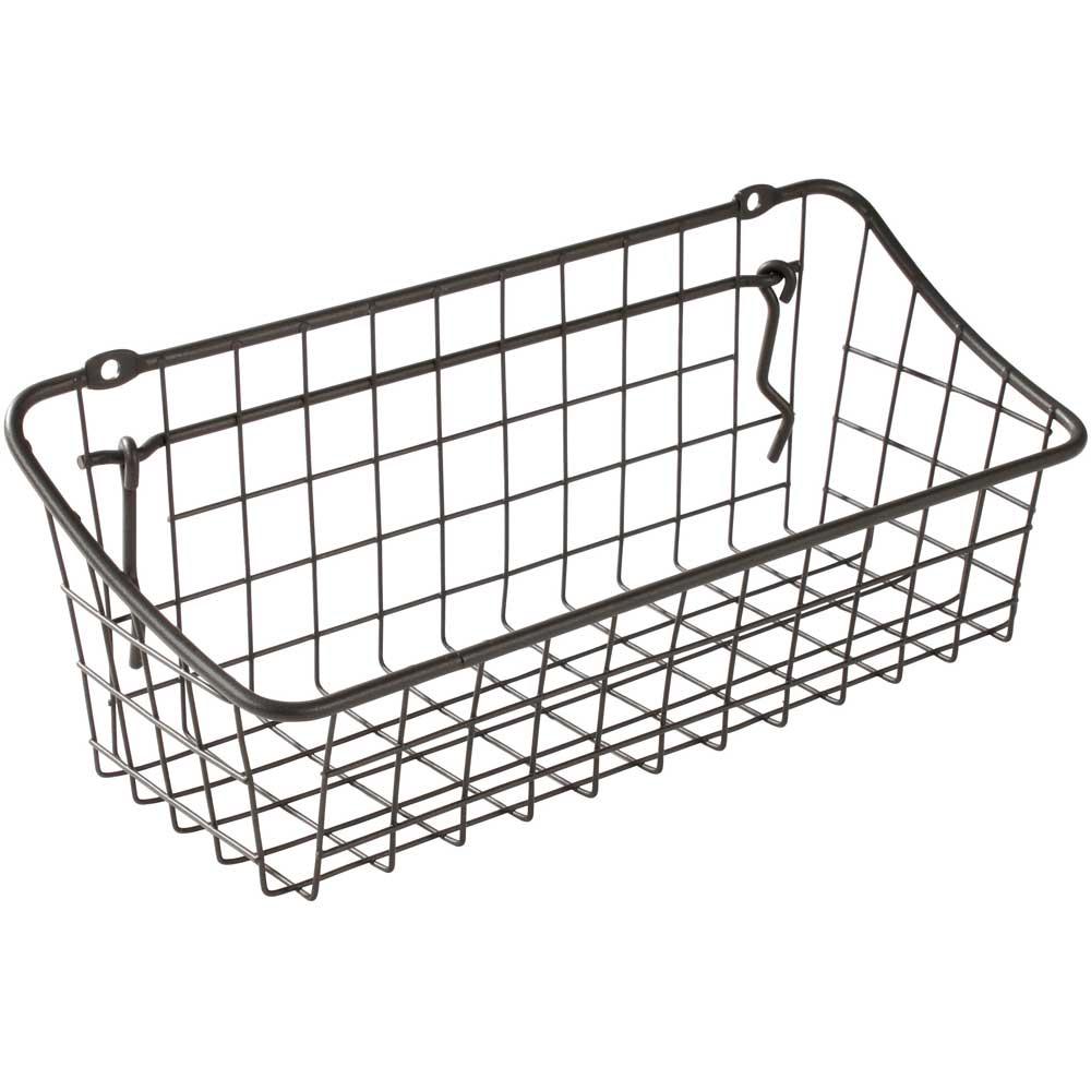 Wall Mount Storage Basket Price: $6.99   $12.99