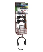 Wall Mount Video Game Rack