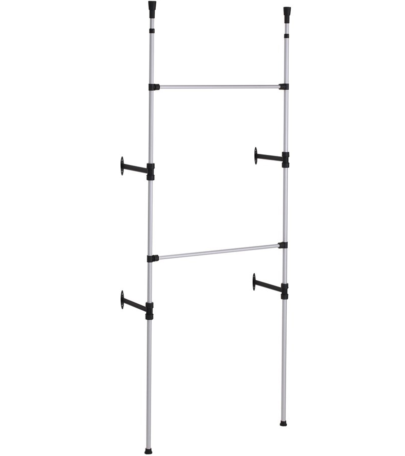 Wall-Mounted Clothes Rack Price: $59.99