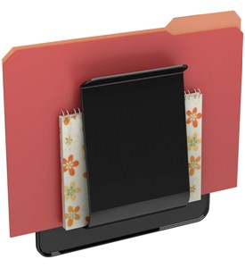Wall-Mounted File Holder Image