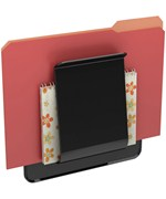 Wall-Mounted File Holder
