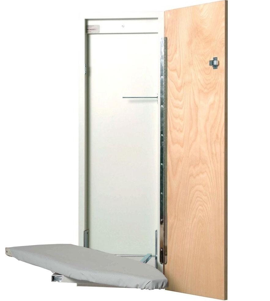 Wall Mounted Ironing Board Image - Wall Mounted Ironing Board In Ironing Boards