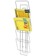 Wire Wall Mount Magazine Rack