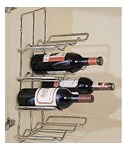 Wall-Mounted Wine Rack - 12 Bottle