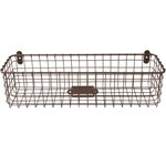 Wall Hanging Wire Baskets wire baskets, bins and organizers at organize-it