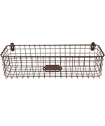Wall Mounted Wire Basket - Vintage