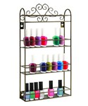 Wall Nail Polish Rack