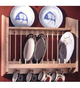 Wall Plate Rack Image