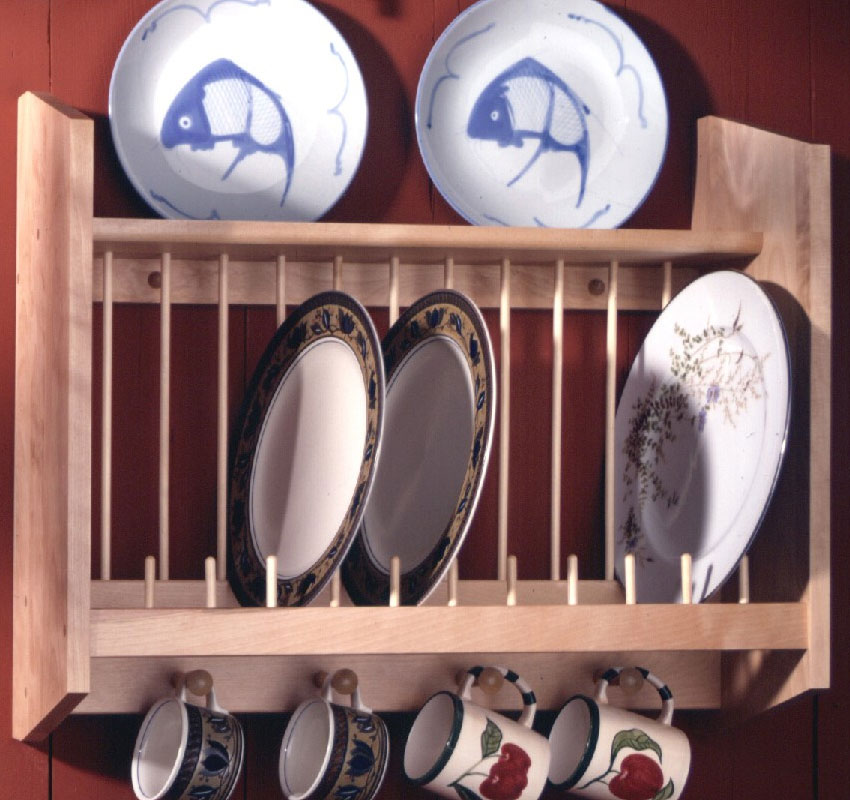 Wall Plate Rack Price: $137.99