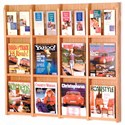 Magazine and Brochure Rack - 12 Pocket