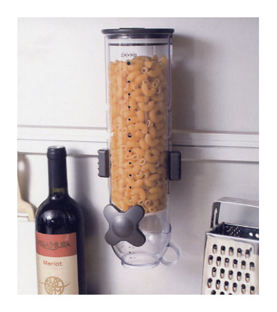 Wall Mount Dry Food Dispenser In Cereal Dispensers