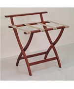 WallSaver Luggage Rack with Tapestry Webbing by Wooden Mallet