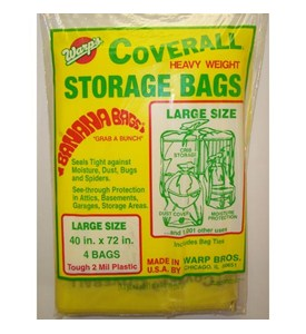 Heavy Weight Plastic Storage Bags - Large (Set of 4) Image