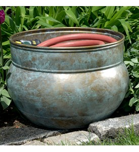 Water Hose Pot - Blue Verde Image