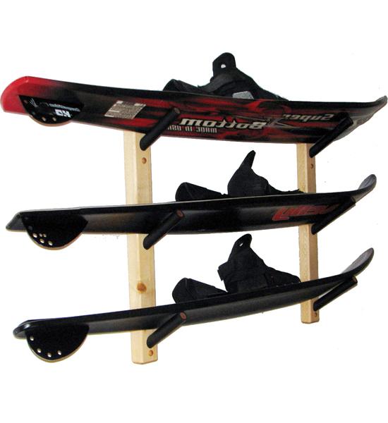 Water Ski Storage Rack   Angled Image