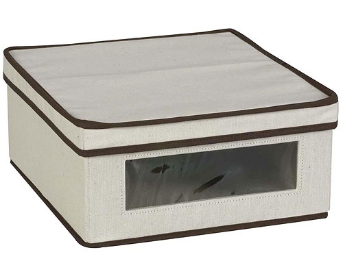 Canvas Clothing Storage Box Extra Large Canvas Storage Box