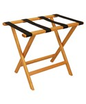 Folding Luggage Stand - Oak