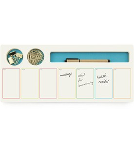 Weekly Schedule Notepad - Supply Caddy Image