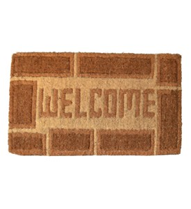 Welcome Coir Doormat by Imports Decor Image