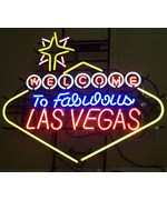 Welcome to Fabulous Las Vegas Neon Sign - by Neonetics - 5VEGAS