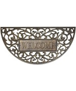 Aluminum Filigree Arch Welcome Mat