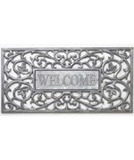 Aluminum Filigree Welcome Mat