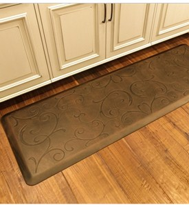 Wellness Mat - Embossed Bella - 6 x 2 Image